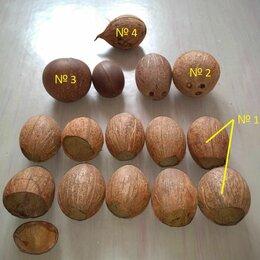 Рукоделие, поделки и сопутствующие товары - Скорлупа кокосового ореха, 0