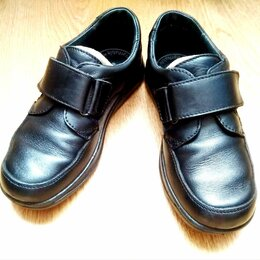 Туфли и мокасины - Туфли кожаные школьные на мальчика 31 размер, 0