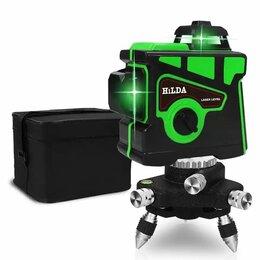 Измерительные инструменты и приборы - Лазерный уровень (нивелир) hilda 12 линий 3d, 0