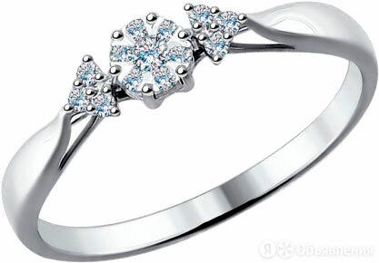 Помолвочное кольцо SOKOLOV 1011482_s_18 по цене 13190₽ - Кольца и перстни, фото 0