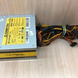 Блоки питания - Бп ATX 700 Вт Chieftec GPA-700S, 0