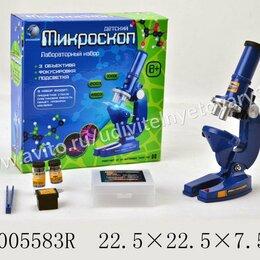 Детские микроскопы и телескопы - Микроскоп детский с набором для исследований, 0