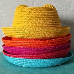 Головные уборы - Детские шляпы с кошачьими ушками. Разные цвета., 0