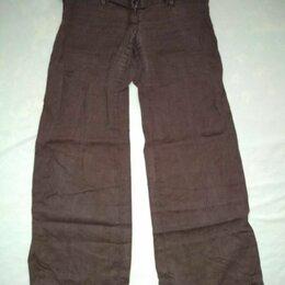 Брюки - Коричневые брюки, 0