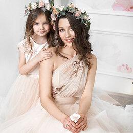 Платья - Свадебное платье пудровое, 0