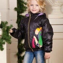 Куртки и пуховики - Куртка для девочки демисезонная. Новая. Россия, 0