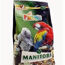 Корма - MANITOBA зерновая смесь 800г для Крупных попугаев , 0
