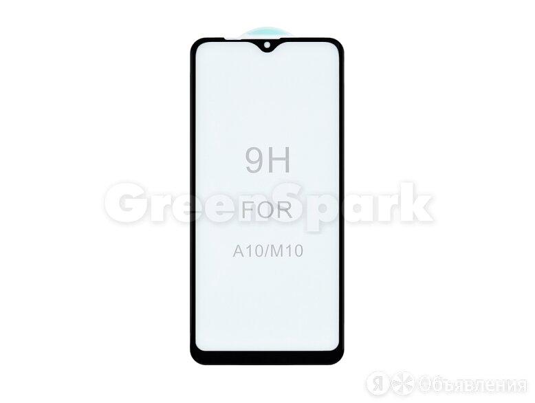 Защитное стекло 3D для Samsung A105/A107/M105 Galaxy A10/A10s/M10 (черный) (V... по цене 250₽ - Защитные пленки и стекла, фото 0