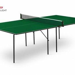 Столы - Теннисный стол Hobby Light green, 0