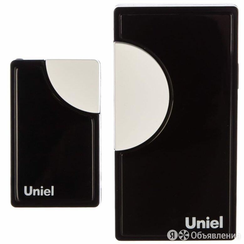 Беспроводной звонок Uniel UDB-002W-R1T1-32S-100M-BL по цене 529₽ - Домофоны, фото 0