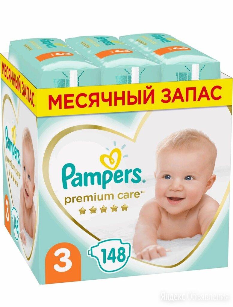 Pampers premium care 3 по цене 1850₽ - Подгузники, фото 0