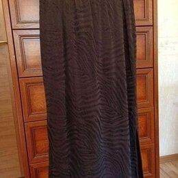 Юбки - Юбка длинная трикотажная с люрексом. Размер 48-50, 0