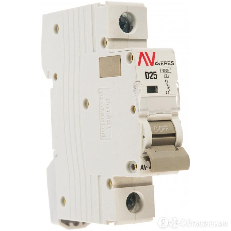 Автоматический выключатель EKF AVERES AV-6 по цене 300₽ - Концевые, позиционные и шарнирные выключатели, фото 0