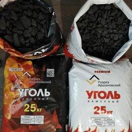 Топливные материалы - Уголь каменный в мешках 25 кг для отопления, 0