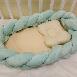 Постельное белье - Гнездо-трансформер с подушечкой. /Новый/., 0