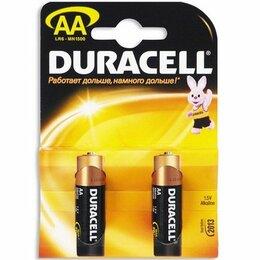 Батарейки - Батарейки Duracell LR6-2BL BASIC 2шт АА, 0