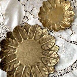 Посуда - Винтажные тарелки цветок , 0
