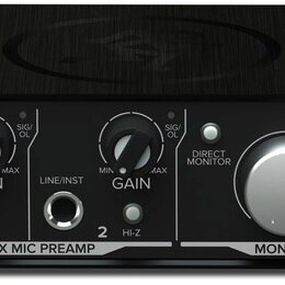 Оборудование для звукозаписывающих студий - Mackie Onyx Artist 1.2 USB аудио интерфейс, 0
