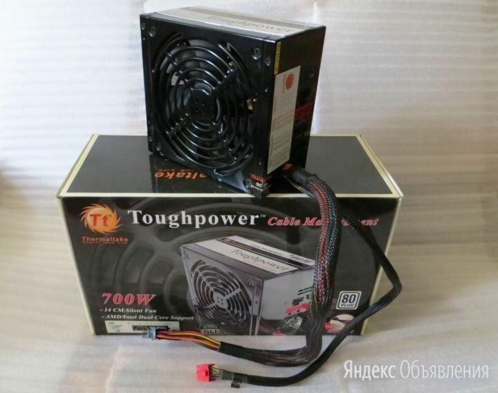 Блок питания Thermaltake Toughpower на 700 Вт по цене 3050₽ - Блоки питания, фото 0