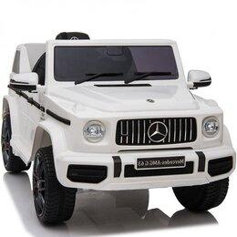 Электромобили - Детский электромобиль Mercedes-Benz G63 Ultra с пультом ДУ и пружинными аморт..., 0
