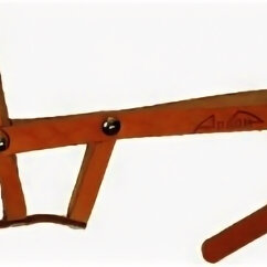 Намордники и недоуздки  - АРКОН  Намордник  коньячный цвет(американский коккер,цвергшнауцер), 0