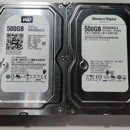 Жёсткие диски и SSD - NEW x4 Жесткий диск WD Blue WD5000azlx 500GB 7200, 0