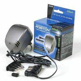 Зарядные устройства и адаптеры питания - Robiton DN300 300мА Блок питания, 0