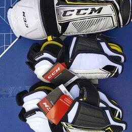 Аксессуары - Щитки хоккейные юниорские ccm tacks 9060 Jr, 0