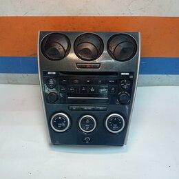 Электрооборудование - Блок кнопок управления печкой Mazda 6 GG 02-07г (GR1E61190), 0