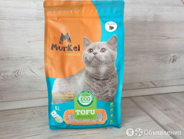 тофу 6л Активированный уголь Муркел Premium по цене 499₽ - Сено и наполнители, фото 0