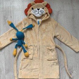Домашняя одежда - Махровый детский халат Лев , 0