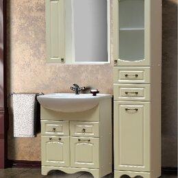 Полки, шкафчики, этажерки - 💥с Комплект мебели для ванной комнаты Аквамарин 3., 0