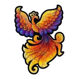 Рукоделие, поделки и сопутствующие товары - Пазл фигурный «Сказочная Жар-птица», 0
