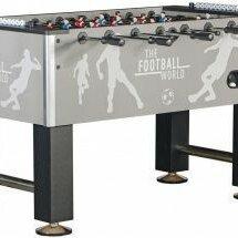 Игровые столы - Настольный футбол (кикер) «Roma (140x76x87 см, серый) ), 0