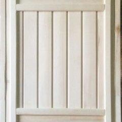 Дверные коробки - 7165 Дверной блок (осина, вагонка кат.В) 1800*700*65 (Глухая2), 0