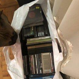 Музыкальные CD и аудиокассеты - DVD, CD диски, с записью и чистые, есть подарочные, 0