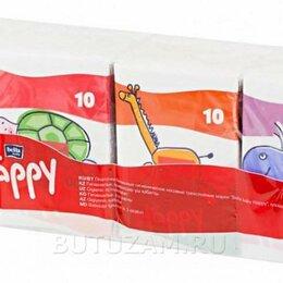 Влажные салфетки - Набор платочков Bella baby 10 шт, мини формат 8уп, 0