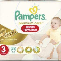 Средства для интимной гигиены - PAMPERS Premium Care Подгузники-трусики MIDI 6-11 кг, 0