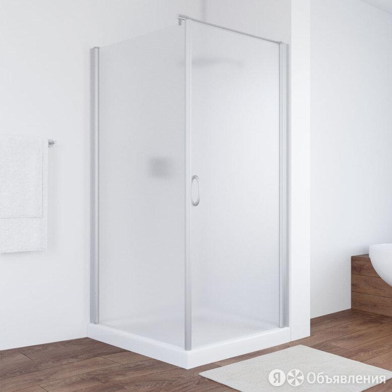 Душевой уголок Vegas Glass EP-Fis 90*100 07 10 R профиль матовый хром, стекло... по цене 44780₽ - Полки, шкафчики, этажерки, фото 0