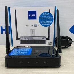 Проводные роутеры и коммутаторы - Wifi роутер ZyXel Keenetic 4G, 0