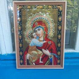 Картины, постеры, гобелены, панно - Алмазная мозаика икона владимирской божьей матери, 0