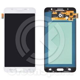 Дисплеи и тачскрины - Дисплей для Samsung J710F Galaxy J7  +тач белый O, 0