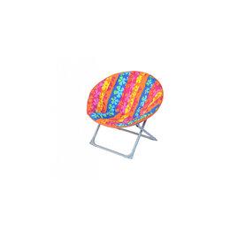 Походная мебель - Кресло складное Рио (каркас серый, ткань разноцветная), 0
