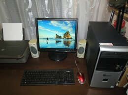 Настольные компьютеры - Игровой компьютер жк19 Radeon HD5650 Core X2 E8500, 0