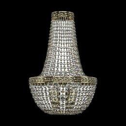 Бра и настенные светильники - Настенный светильник Bohemia Ivele 19051B/H2/25IV GB, 0