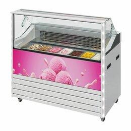 Витрины - Витрина для мороженого IC72 SL 1,3-1 брендирование фронтальной панели, 0