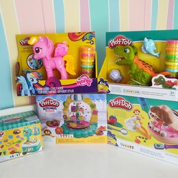 Развивающие игрушки - Наборы для лепки play-doh, 0