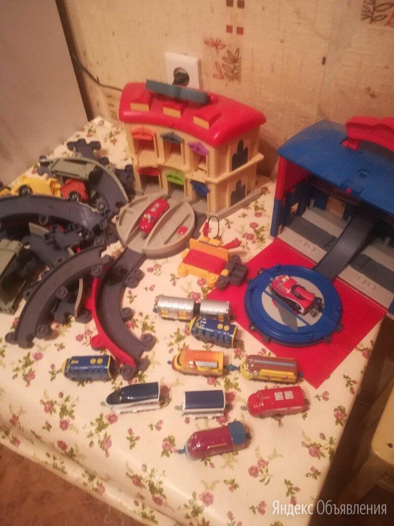 Чаггингтон жжелезная дорога штормовая машина по цене 5000₽ - Детские железные дороги и автотреки, фото 0