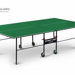 Столы - Теннисный стол Olympic green, 0