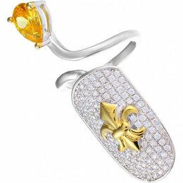 Кольца и перстни - Element47 кольцо серебро вес 4,14 вставка фианит арт. 743526, 0